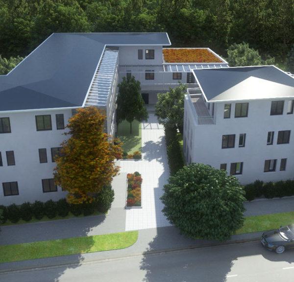Neubau von 18 Wohneinheiten mit Tiefgarage in Altötting Prälat-Uttlinger-Str. 5, 84503 Altötting